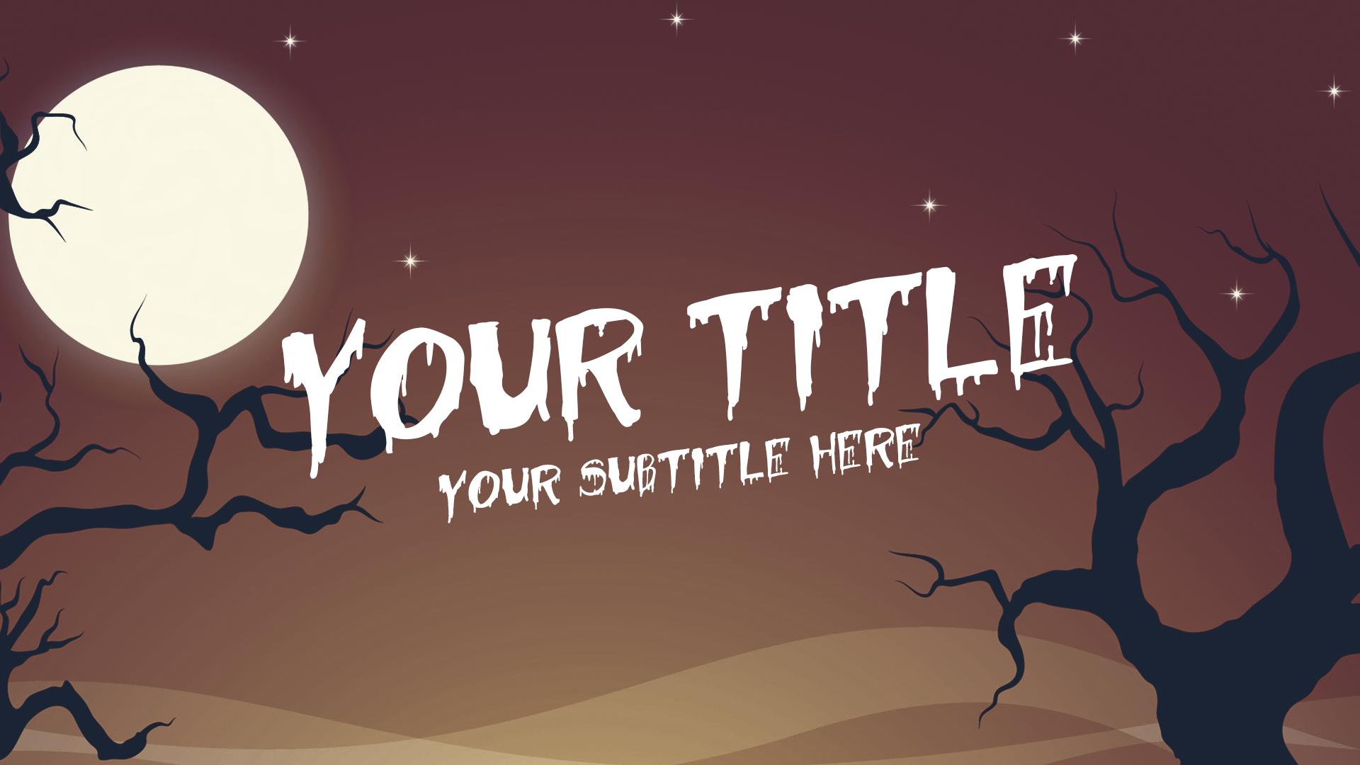 Halloween Thumbnail