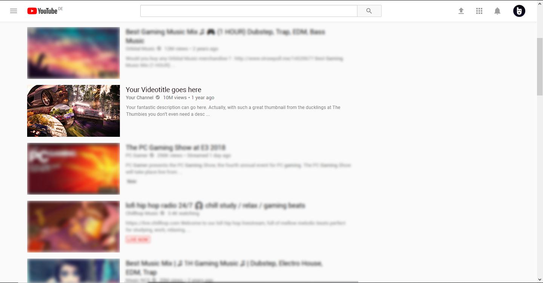 Circled Thumbnail Example
