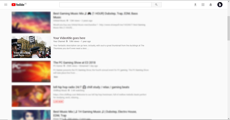 News Thumbnail Example