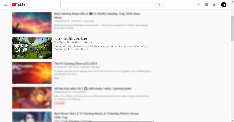 Fortnite Thumbnail Example