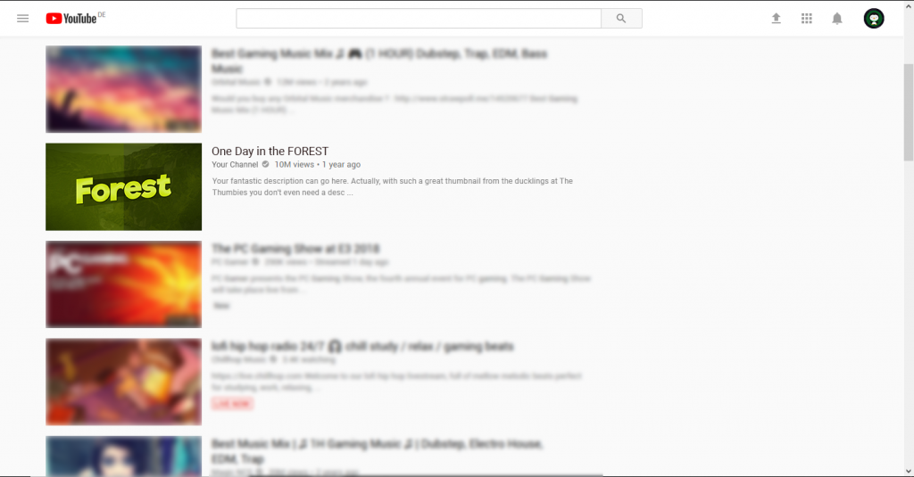 Green Thumbnail Example