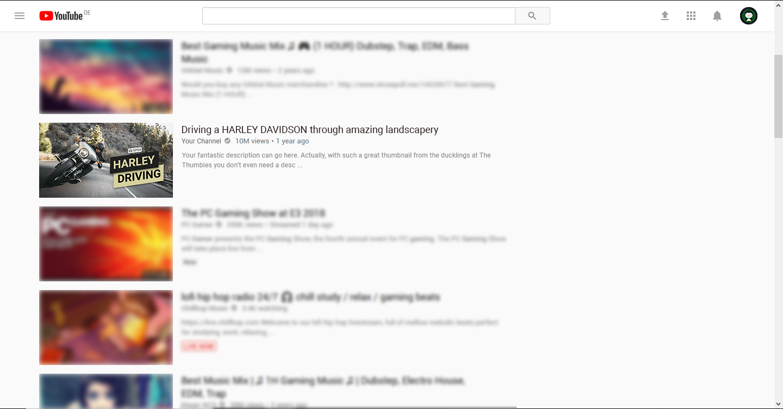 Vlogging Thumbnail Example