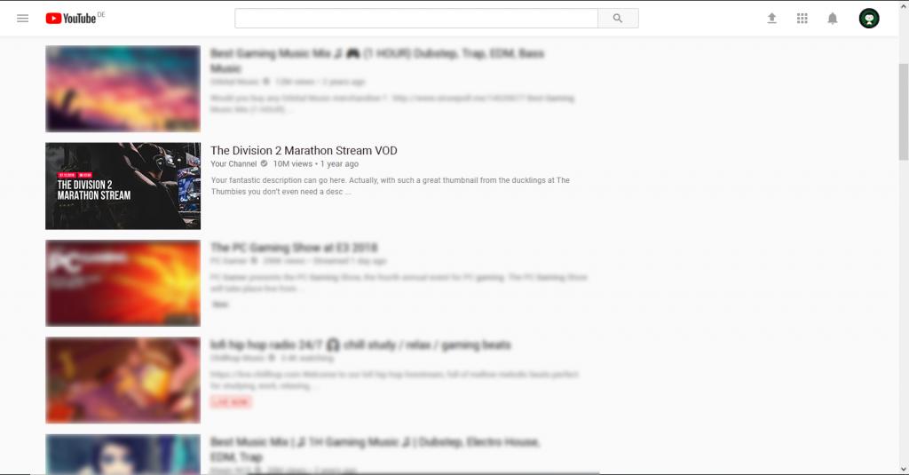 Livestream Thumbnail Example