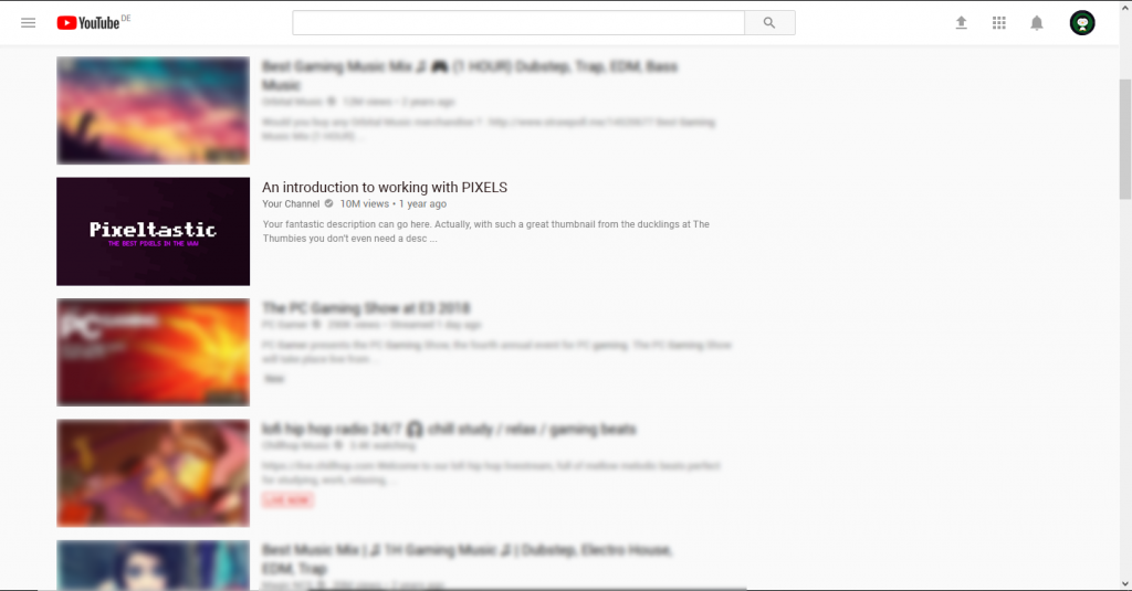 Pixel Thumbnail Example