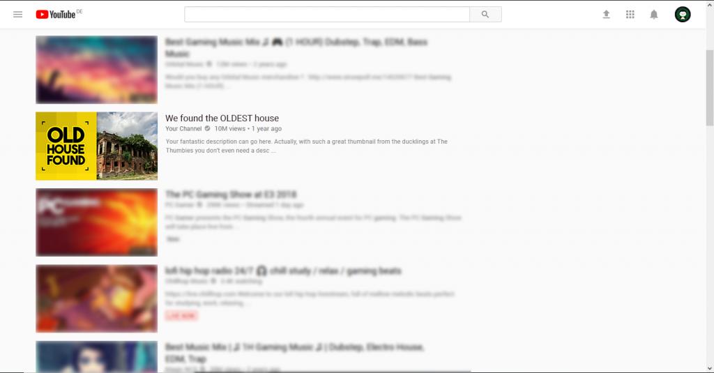 Yellow Thumbnail Example
