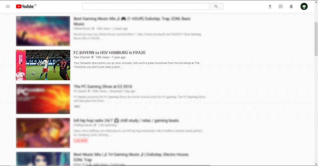 FIFA20 Thumbnail Example