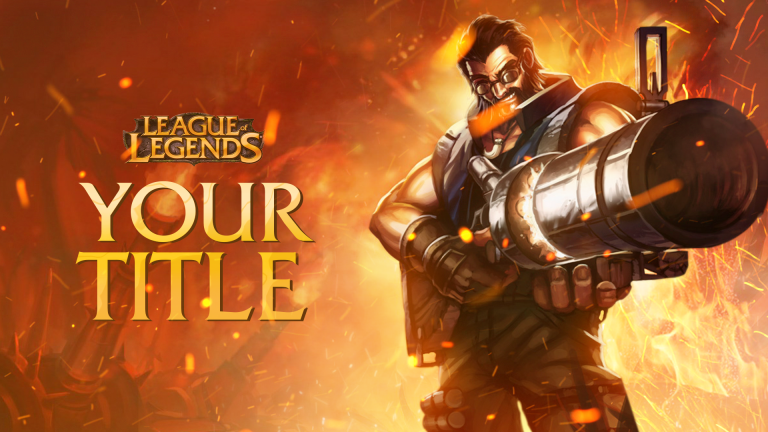 League of Legends Thumbnail