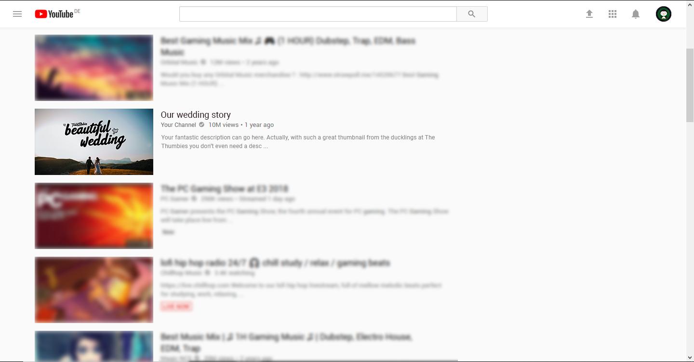 Wedding Thumbnail Example