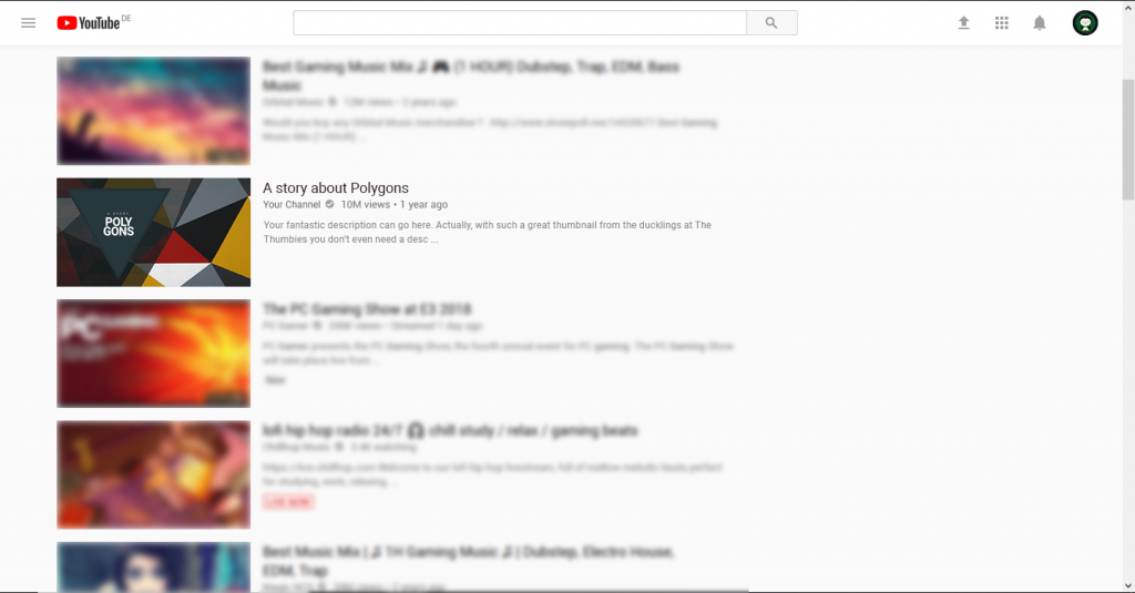 Triangled Thumbnail Example