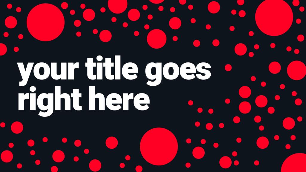Red Dot Thumbnail