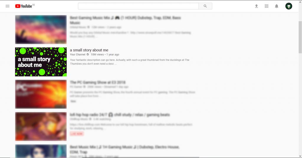 Red Dot Thumbnail Example