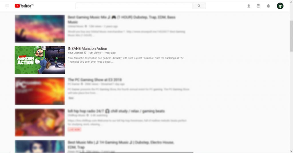 Luigi Thumbnail Example