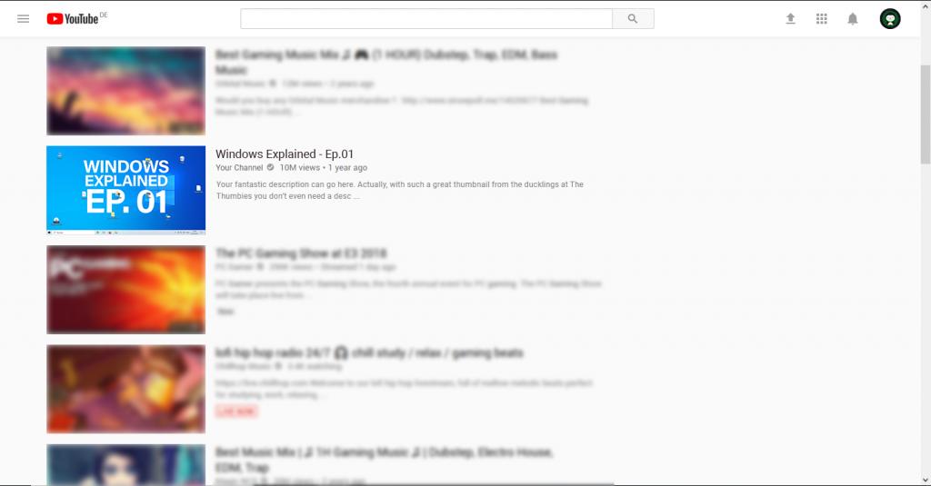 Desktop Thumbnail Example