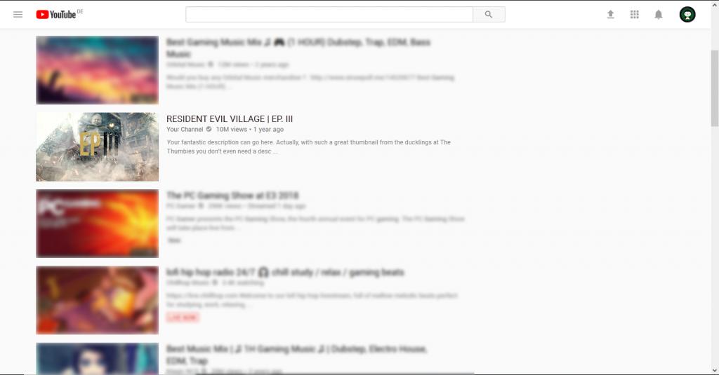Resident Evil Village Thumbnail Example