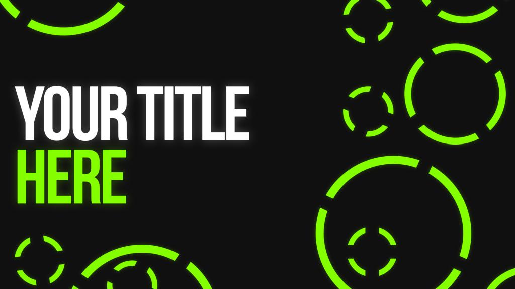 Circled Green Thumbnail