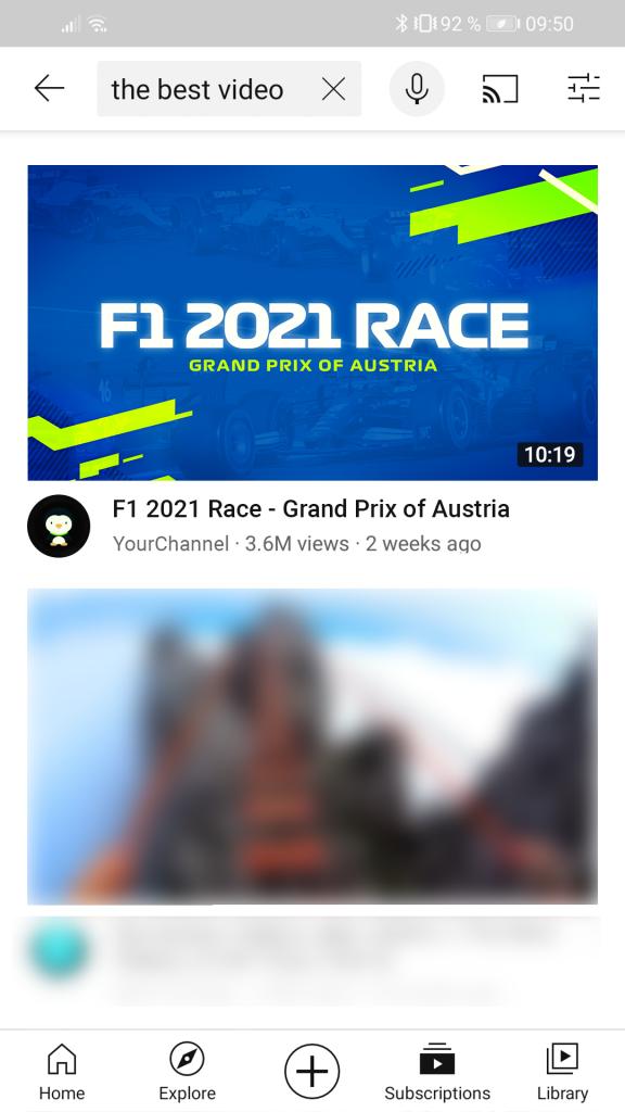 F1 2021 Thumbnail Example Mobile