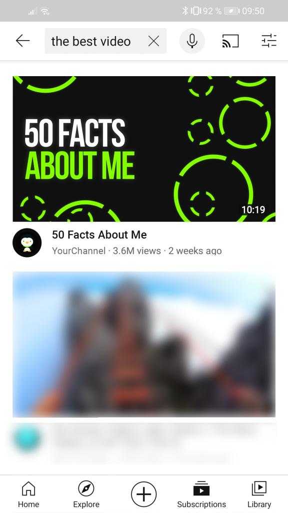 Circled Green Thumbnail Example Mobile